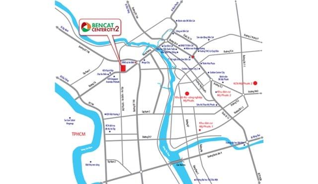Dự án Bến Cát Center City 2