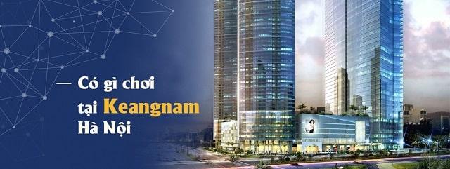 tòa nhà keangnam có những gì