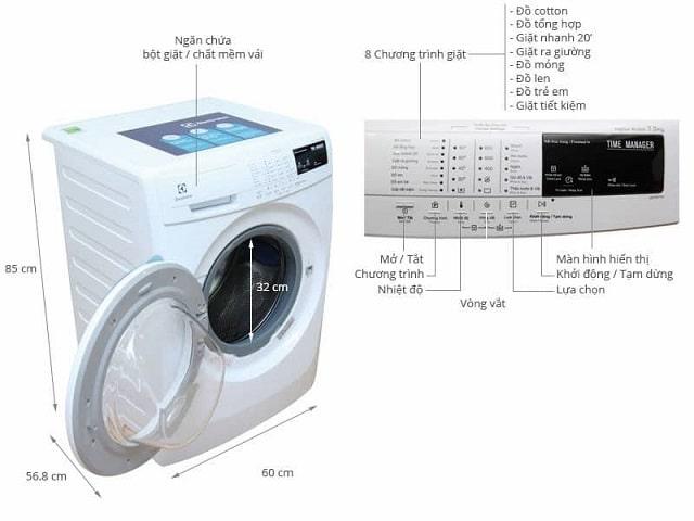 Kích thước máy giặt 7kg (2)