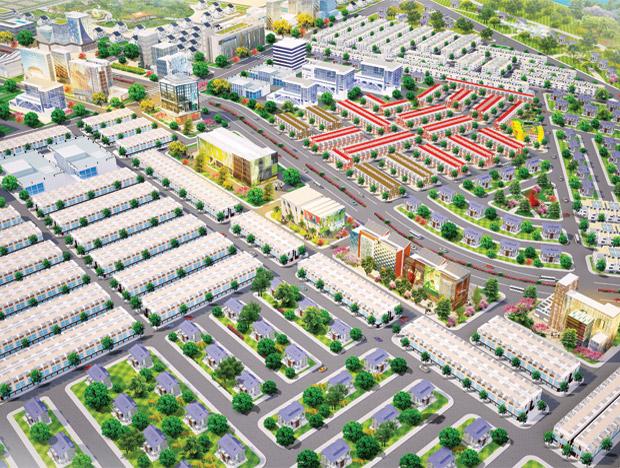 Tổng quan dự án Bến Cát Center City 2